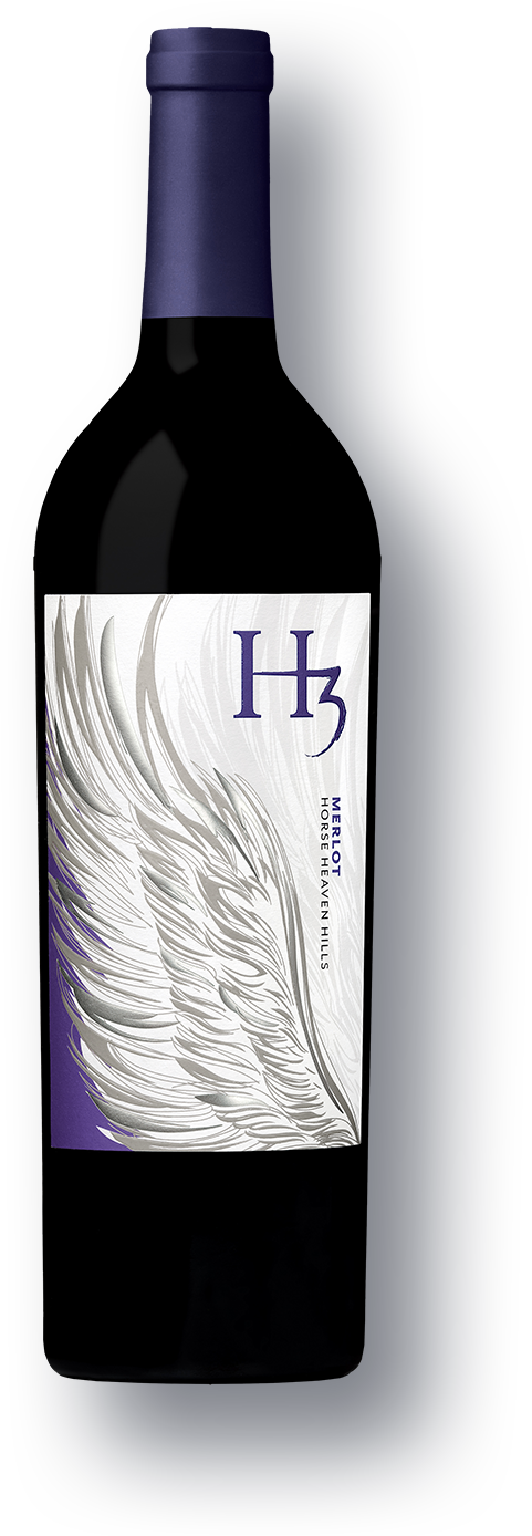 Bottle of H3 Merlot