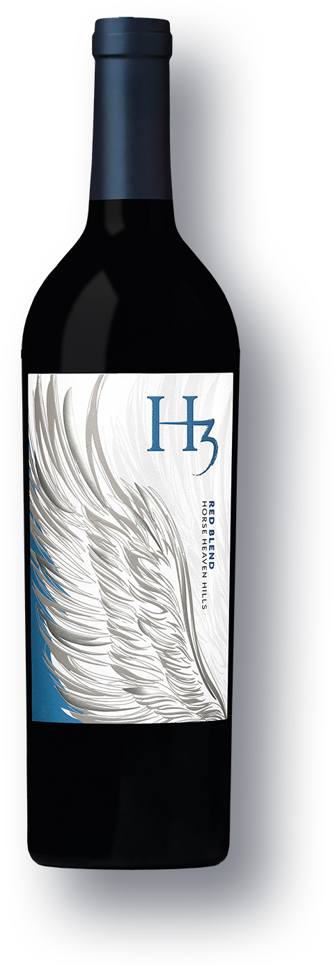 Bottle of H3 Red Blend