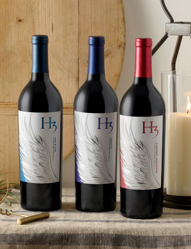 H3 Wine Bottles