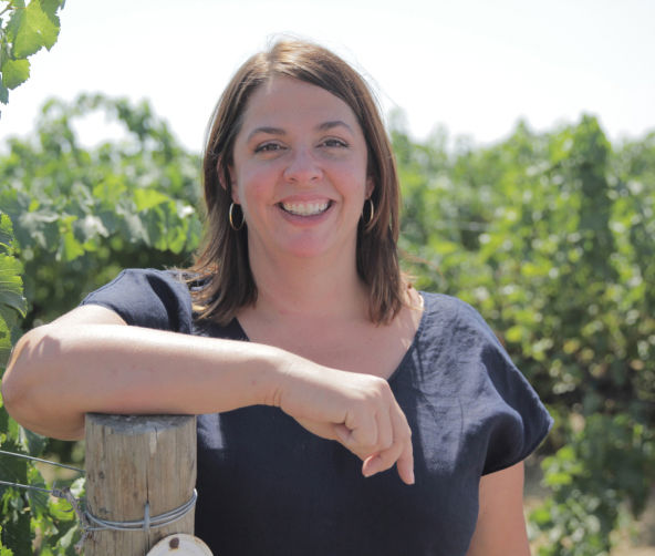 Winemaker Katie Nelson
