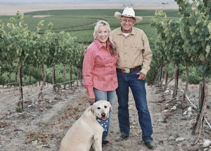 Mike and Marti of Coyote Canyon Vineyards