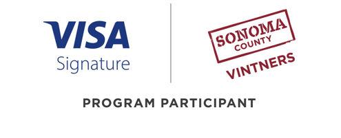 Visa Signature logo & Vintners