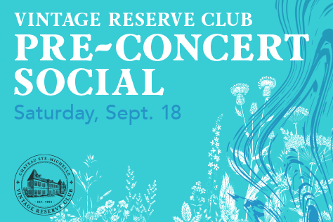 VRC Pre-Concert Social Saturday, September 18th - SOLD OUT image